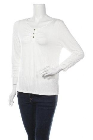 Дамска блуза Vivance, Размер M, Цвят Бял, 95% вискоза, 5% еластан, Цена 34,50лв.