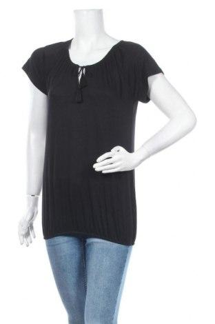 Дамска блуза Vivance, Размер L, Цвят Черен, 95% вискоза, 5% еластан, Цена 24,48лв.