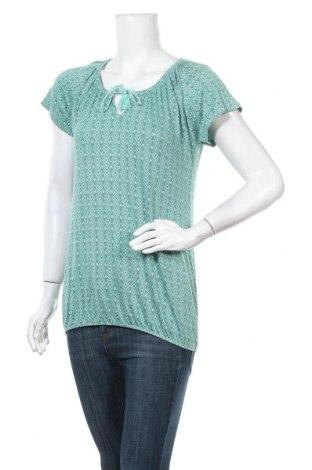 Дамска блуза Vivance, Размер L, Цвят Зелен, 95% вискоза, 5% еластан, Цена 25,20лв.
