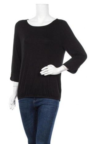 Дамска блуза Vivance, Размер L, Цвят Черен, 95% вискоза, 5% еластан, Цена 33,00лв.