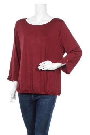 Дамска блуза Vivance, Размер XXL, Цвят Червен, 95% вискоза, 5% еластан, Цена 33,00лв.