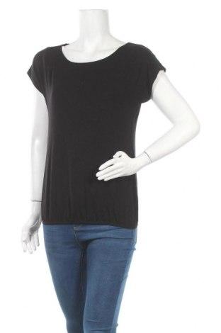 Дамска блуза Vivance, Размер S, Цвят Черен, 95% вискоза, 5% еластан, Цена 25,20лв.