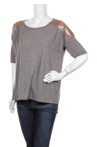 Дамска блуза WE, Размер L, Цвят Сив, 80% полиестер, 20% вискоза, Цена 17,85лв.