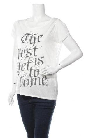 Дамска блуза WE, Размер L, Цвят Бял, Модал, Цена 28,93лв.