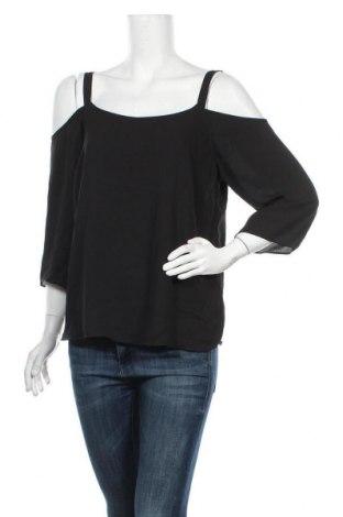 Дамска блуза Wallis, Размер M, Цвят Черен, Полиестер, Цена 21,07лв.