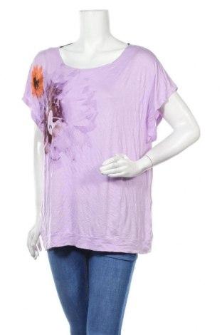 Дамска блуза Yessica, Размер XL, Цвят Лилав, Вискоза, Цена 29,40лв.