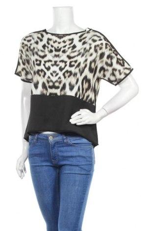 Дамска блуза Zara Trafaluc, Размер S, Цвят Многоцветен, Полиестер, Цена 7,37лв.