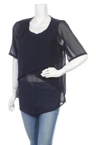 Дамска блуза Zizzi, Размер L, Цвят Син, Полиестер, Цена 4,82лв.