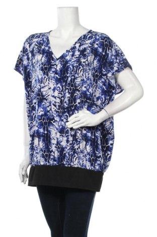 Дамска блуза Zizzi, Размер XL, Цвят Син, 92% полиестер, 8% еластан, Цена 9,92лв.