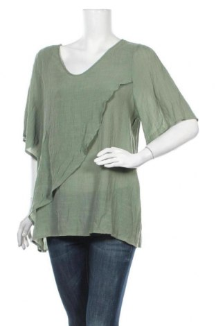 Дамска блуза Zizzi, Размер XXL, Цвят Зелен, Цена 18,90лв.