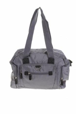 Дамска чанта, Цвят Сив, Текстил, Цена 26,46лв.