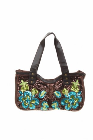 Дамска чанта, Цвят Кафяв, Текстил, Цена 20,16лв.
