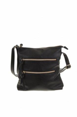Дамска чанта, Цвят Черен, Еко кожа, Цена 16,91лв.