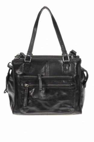 Дамска чанта, Цвят Черен, Естествена кожа, Цена 37,17лв.