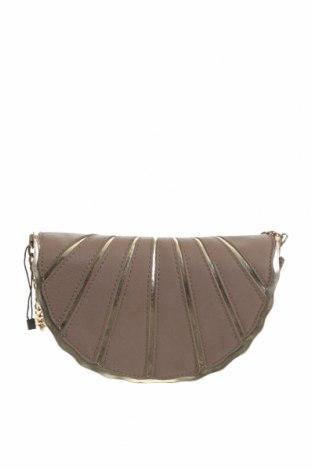 Дамска чанта, Цвят Бежов, Еко кожа, Цена 10,92лв.