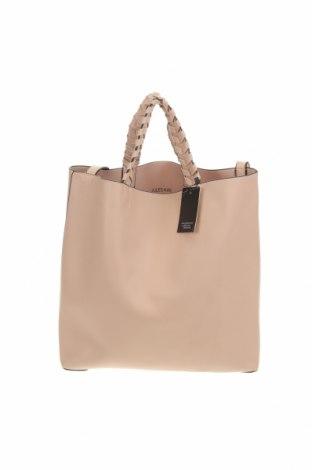 Дамска чанта, Цвят Бежов, Еко кожа, Цена 38,64лв.
