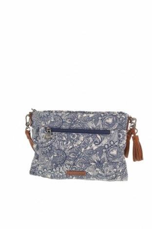 Дамска чанта, Цвят Син, Текстил, Цена 30,35лв.