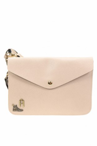 Дамска чанта, Цвят Бежов, Еко кожа, Цена 17,64лв.