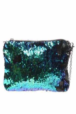 Дамска чанта, Цвят Син, Текстил, Цена 21,84лв.