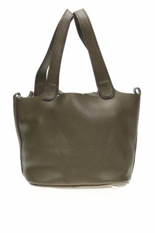 Дамска чанта, Цвят Зелен, Еко кожа, Цена 10,66лв.