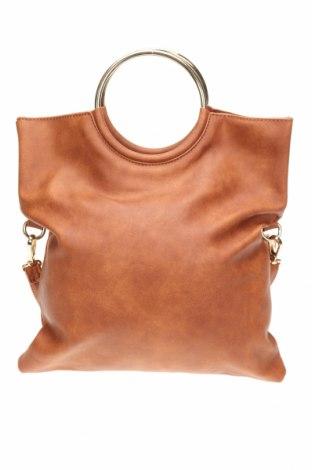Дамска чанта, Цвят Кафяв, Еко кожа, Цена 30,45лв.