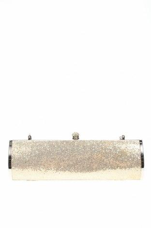 Дамска чанта, Цвят Златист, Текстил, Цена 15,75лв.