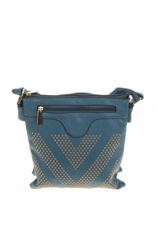 Дамска чанта, Цвят Син, Еко кожа, Цена 10,50лв.