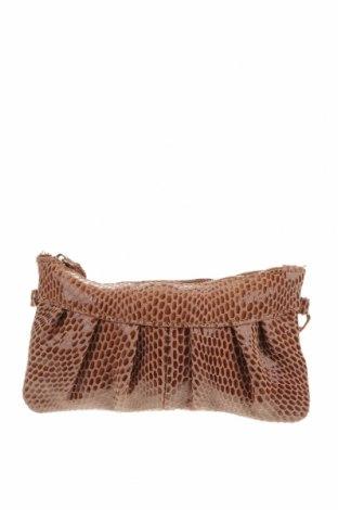 Дамска чанта, Цвят Кафяв, Естествен велур, Цена 43,37лв.