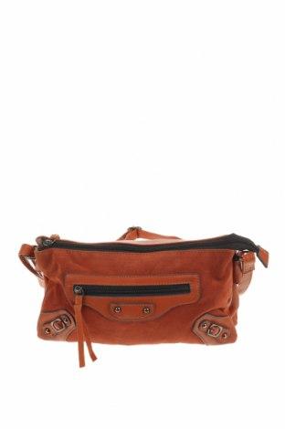 Дамска чанта, Цвят Червен, Еко кожа, текстил, Цена 21,42лв.