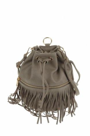 Дамска чанта, Цвят Бежов, Еко кожа, Цена 21,26лв.