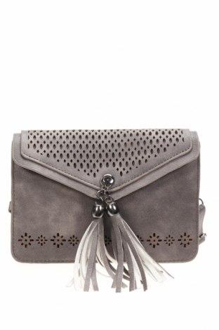 Дамска чанта, Цвят Сив, Еко кожа, Цена 15,12лв.