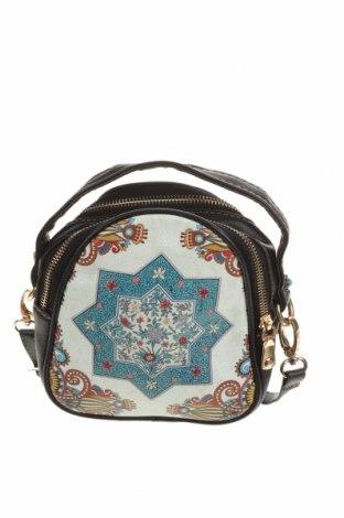 Дамска чанта, Цвят Многоцветен, Естествена кожа, Цена 54,60лв.