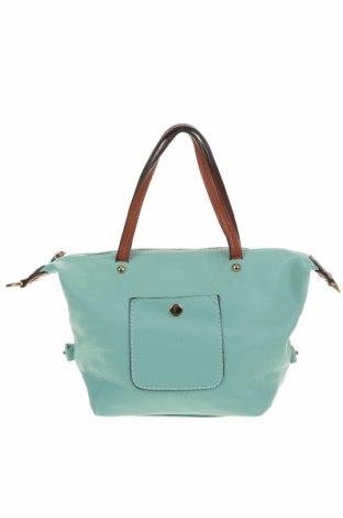 Дамска чанта, Цвят Зелен, Еко кожа, Цена 25,94лв.
