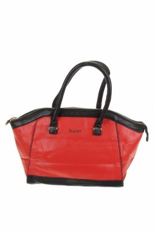 Дамска чанта, Цвят Червен, Еко кожа, Цена 25,52лв.