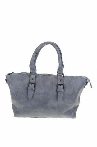 Дамска чанта, Цвят Син, Еко кожа, Цена 25,20лв.