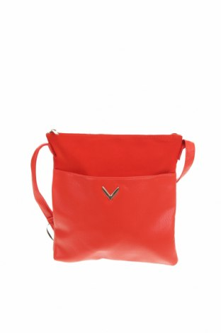 Дамска чанта Accessoires, Цвят Оранжев, Еко кожа, Цена 31,24лв.