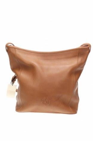 Дамска чанта Anne Klein, Цвят Кафяв, Естествена кожа, Цена 107,10лв.
