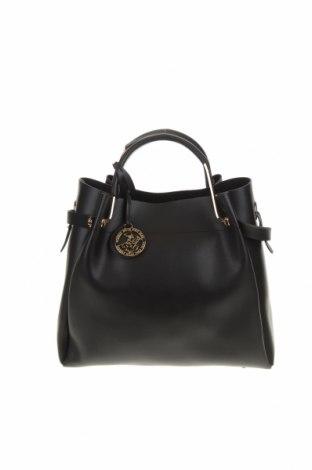 Γυναικεία τσάντα Beverly Hills Polo Club, Χρώμα Μαύρο, Δερματίνη, Τιμή 29,82€