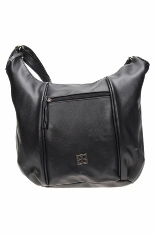 Дамска чанта Cabrelli, Цвят Черен, Еко кожа, Цена 16,17лв.