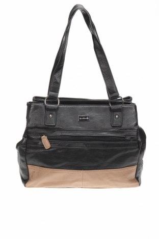 Дамска чанта Cabrelli, Цвят Черен, Еко кожа, Цена 15,02лв.