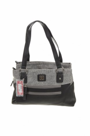 Дамска чанта Cabrelli, Цвят Черен, Еко кожа, Цена 36,75лв.
