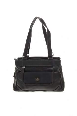 Дамска чанта Cabrelli, Цвят Черен, Еко кожа, Цена 26,88лв.