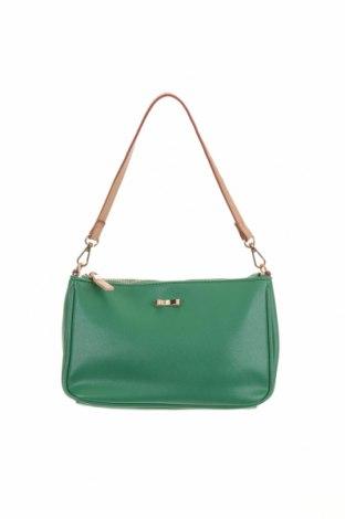 Дамска чанта Carpisa, Цвят Зелен, Еко кожа, Цена 21,74лв.