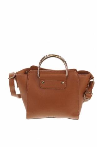 Дамска чанта Chicoree, Цвят Кафяв, Еко кожа, Цена 21,84лв.