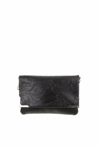 Дамска чанта Clockhouse, Цвят Черен, Еко кожа, Цена 22,05лв.