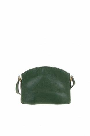 Дамска чанта Coach, Цвят Зелен, Естествена кожа, Цена 91,77лв.