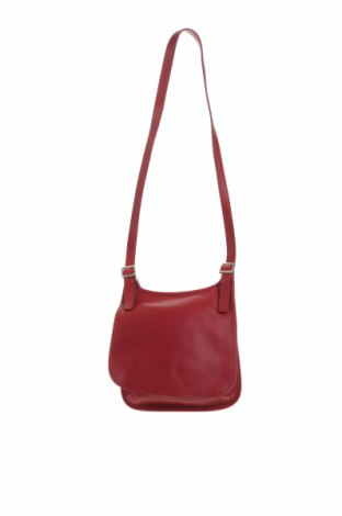 Дамска чанта Coach, Цвят Червен, Естествена кожа, Цена 117,60лв.