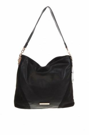 Дамска чанта Colette By Colette Hayman, Цвят Черен, Еко кожа, Цена 35,44лв.