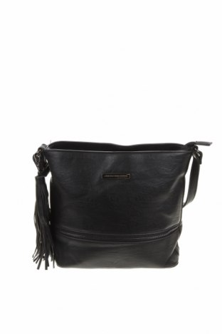 Дамска чанта Colette By Colette Hayman, Цвят Черен, Еко кожа, Цена 27,30лв.