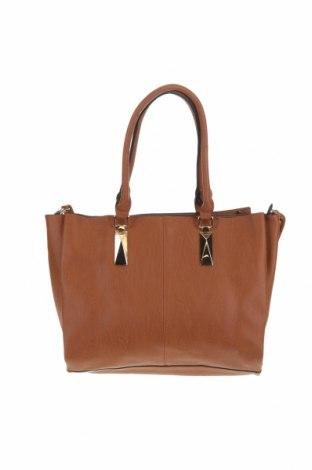 Дамска чанта Colette By Colette Hayman, Цвят Кафяв, Еко кожа, Цена 29,23лв.